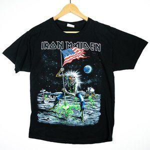 2010 Iron Maiden USA Final Frontier Alien Tour Tee